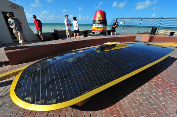 Solar Car Reaches Southernmost Point