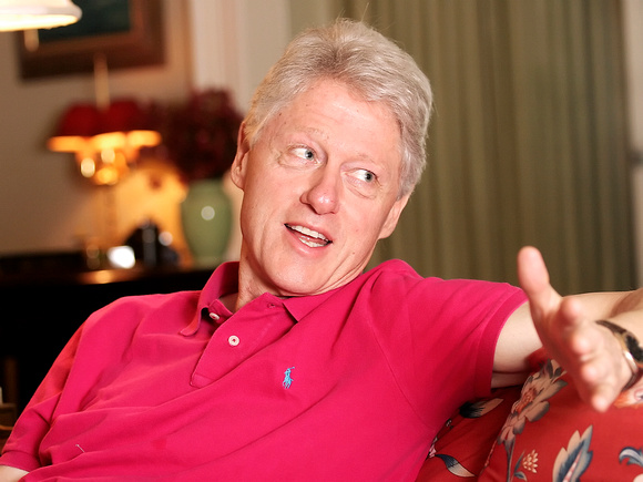 Bill Clinton Visits Little White House in Key West